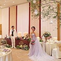 Hearty Wedding The Plaza 30名様 ¥660,000(お一人様追加¥15,000)